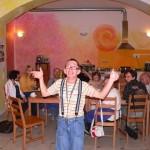 Luboš tančí v Momo Chrudim