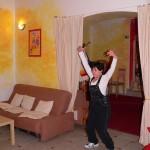 věra tančí v Momo Chrudim